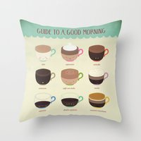 Guide To A Good Morning Throw Pillow