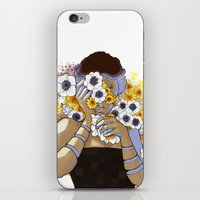 Sleep Under The Petals iPhone & iPod Skin