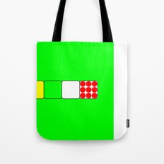 Tour de France Jerseys 2 Green Tote Bag