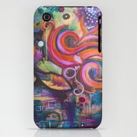 iPhone Cases featuring Siren by Sparkle & Flourish by Jennifer Magel