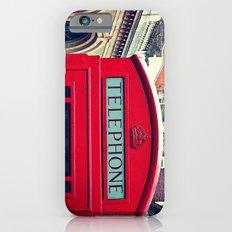 'LONDON PHONE BOX' iPhone 6 Slim Case