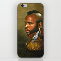 Mr. T - Replaceface iPhone & iPod Skin