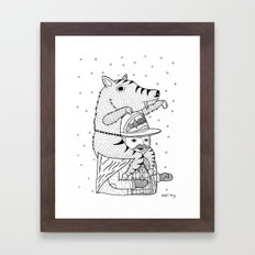 More on the topic of winter hats Framed Art Print