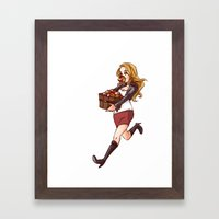 Apple Thief Framed Art Print