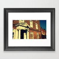 Burnham Market Framed Art Print