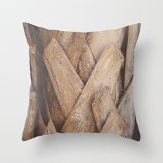 Tropical Texture Throw Pillow