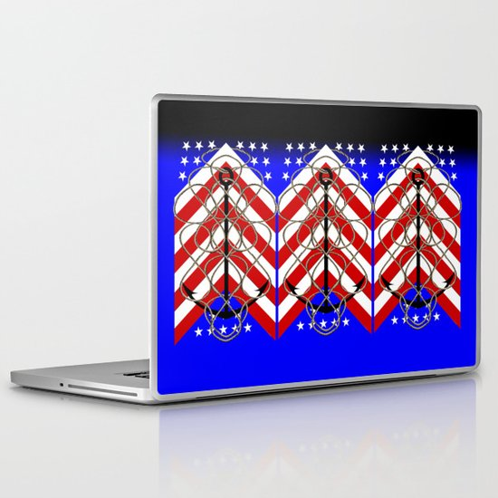 American Anchor Laptop & iPad Skin