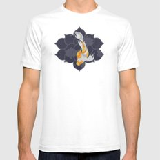 Koi White Mens Fitted Tee SMALL