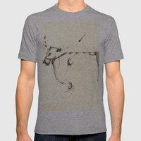 Bull Mens Fitted Tee Athletic Grey SMALL