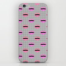 Lips - Hot Pink Lips Wit… iPhone & iPod Skin