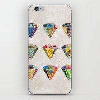 Diamonds Collage iPhone & iPod Skin