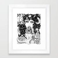 Adam Tu Rêves ! Framed Art Print
