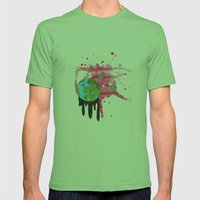 Broken Earth  Mens Fitted Tee Grass SMALL