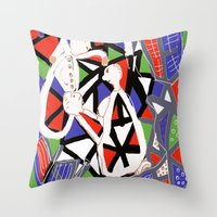 Dentists for dummies Throw Pillow