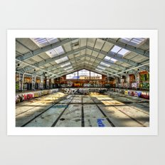 Next Olympic Venue Art Print