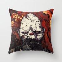 Father Figure Throw Pillow