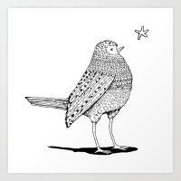 Thursday Bird Art Print