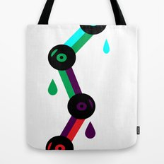 Drips Of Sound Tote Bag