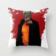 The Haunted Hunter Throw Pillow