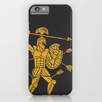 iPhone & iPod Case featuring the warrior by Matthew Taylor Wilson