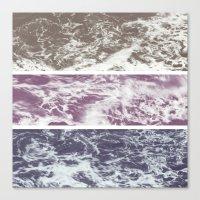 Saltwater tryptych Var I Canvas Print