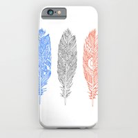 iPhone & iPod Case featuring Patterned Plumes by Kyle Naylor