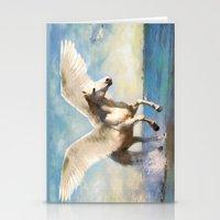 Pegasus Taking Flight Stationery Cards