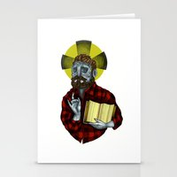 The Saint Stationery Cards