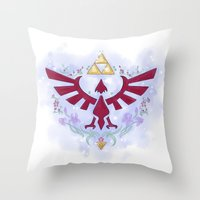 Hylian Sigil Throw Pillow