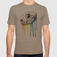 Skull Candy Kitty Mens Fitted Tee Tri-Coffee SMALL