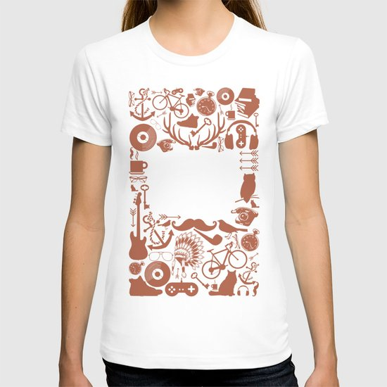 The Study of Hipsters T-shirt