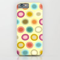 polka creamy iPhone 6 Slim Case