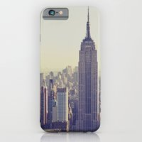nyc iPhone & iPod Cases featuring NYC by Chernobylbob