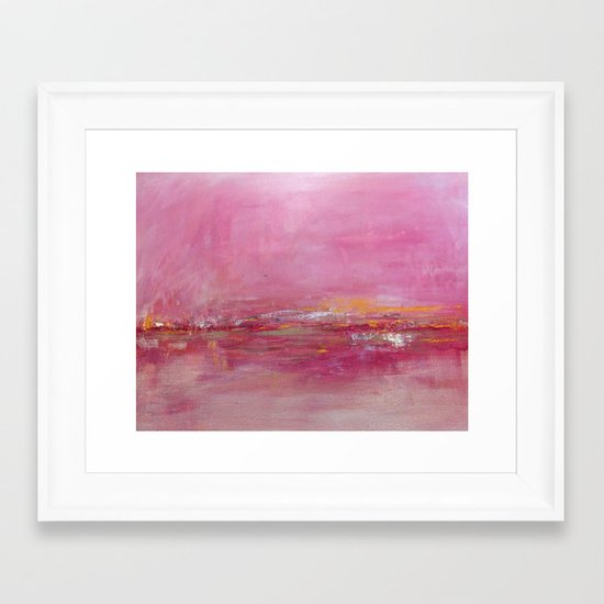 Ebb and Flow Framed Art Print