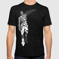 X6 Mens Fitted Tee Tri-Black SMALL
