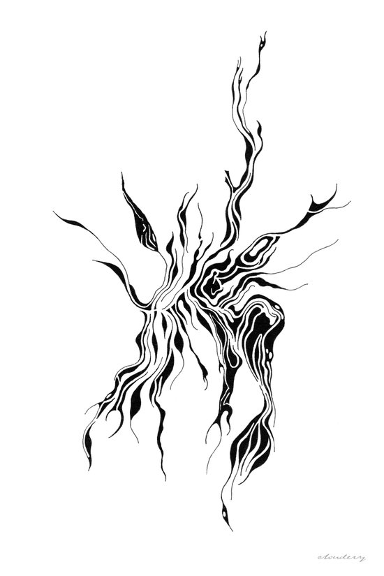 Hydra (detail) Art Print