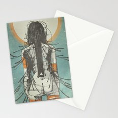 Nymph: Staring at the Sun (Ext) Stationery Cards