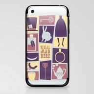 Alice In Wonderland - We… iPhone & iPod Skin