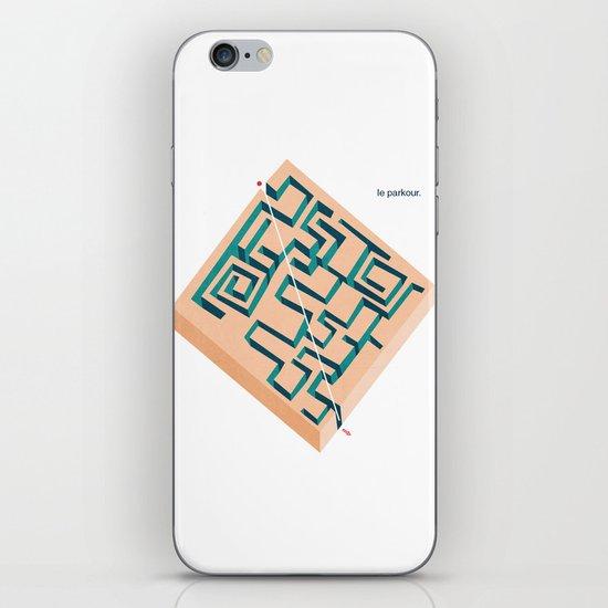 Le Parkour iPhone & iPod Skin