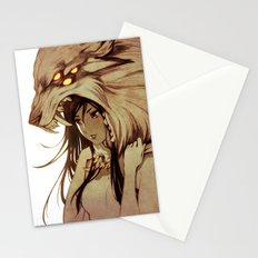 The Prey and the Hunter Stationery Cards