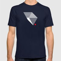 V like V Mens Fitted Tee Navy SMALL