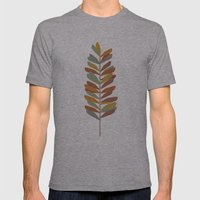 Branch 2 Mens Fitted Tee Athletic Grey SMALL