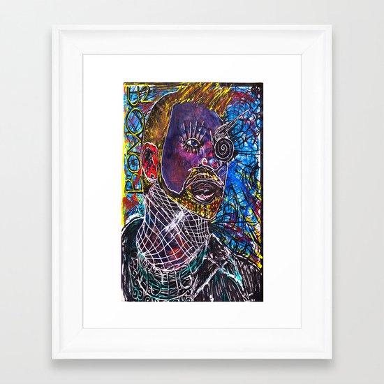 OhISeeYOUTWOAteOneTwo//BONO Framed Art Print