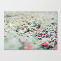 Little Tales In Red Canvas Print