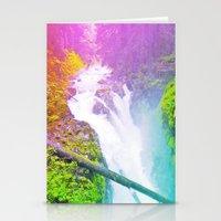 Wonderland Waterfall Stationery Cards