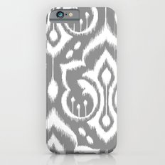 Ikat Damask Gray Slim Case iPhone 6s