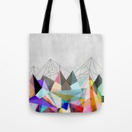 Tote Bag featuring Colorflash 3 by Mareike Böhmer Grap…