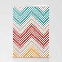 C13 Pattern Series - Pix… Stationery Cards