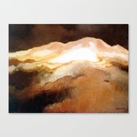 Ruapehu Sunset Canvas Print