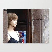 Morelia Mannequin  Canvas Print